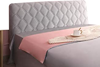 Stretch Dustproof Slipcover Backrest Cover Nordic Style All-Inclusive Headboards for Beds Cover Dustproof Protector Velvet...