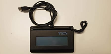 Topaz SigLite T-LBK460-HSB-R 1x5 LCD Signature Capture Pad USB Connection (Backlit)