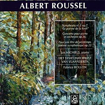 Roussel: Symphonie No. 1 Op. 7, Concerto pour Piano et Orchestre, Op. 36