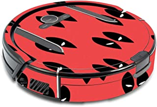 MightySkins Skin Compatible with Shark Ion Robot R85 Vacuum - Dead Eyes Pool | Protective, Durable, and Unique Vinyl Decal wrap Cover | Easy to Apply, Remove, and Change Styles | Made in The USA