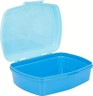 Joytoy Frozen-Olaf Sandwich Box, Ceramic Blue/White, 8 x 12 x 16 cm