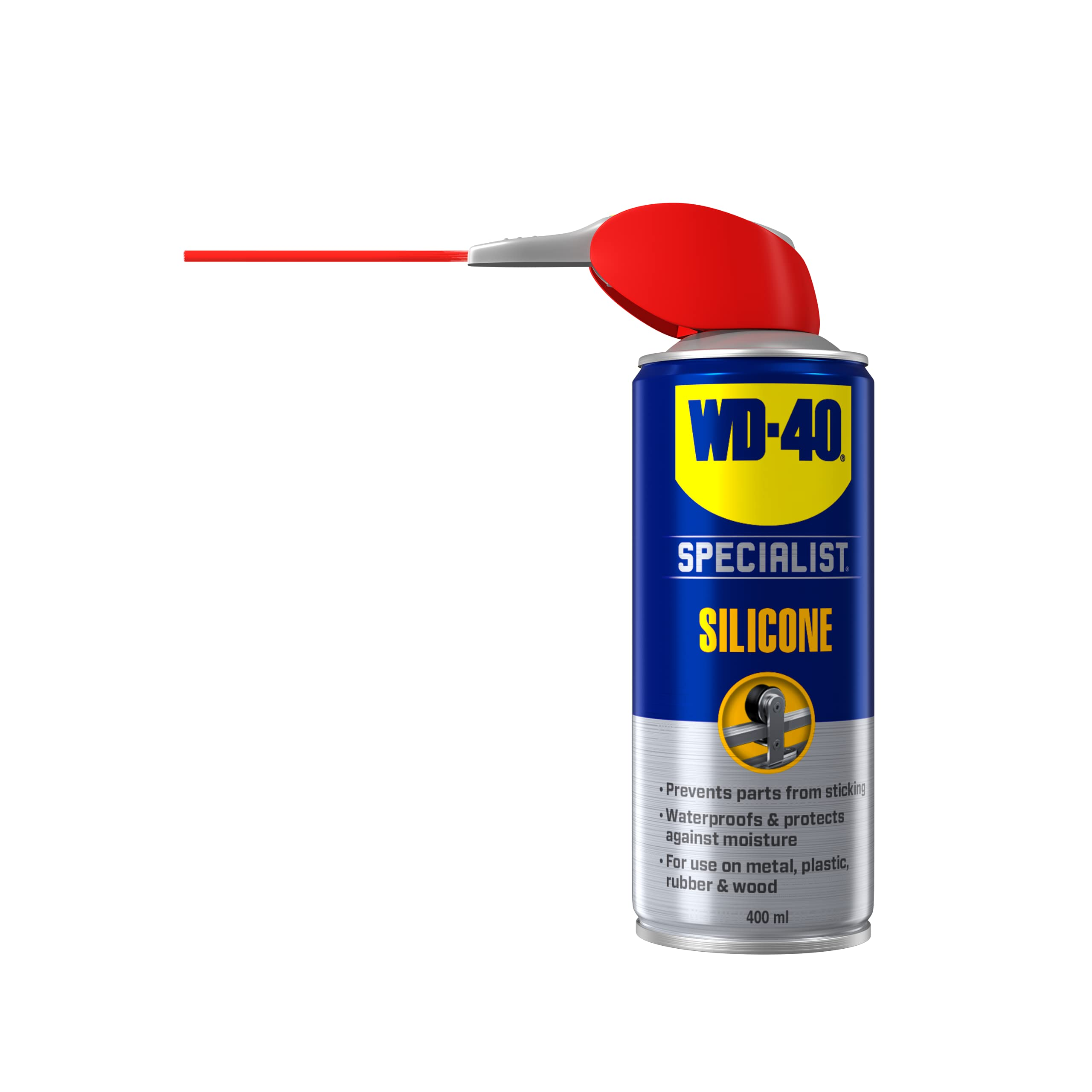 WD-40 Specialist High Performance Silicone Lubricant Smart Straw 400ml