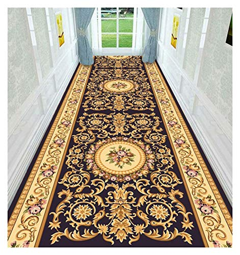 ditan XIAWU Eingangstürmatte Bereich Teppich Horizontal Wohnzimmer rutschfest Kann Geschnitten Werden (Color : A, Size : 100x300cm)
