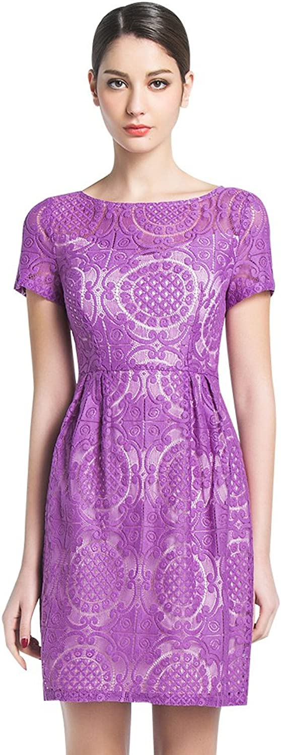 BIRRYSHOP Women's Floral Fitted Dress