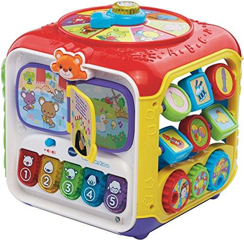 VTech Baby - Activiteiten Kubus Interactief Speelgoed - Multikleuren - Plastic - Voor Jongens en Meisjes - Van 9 tot 36 maanden - Nederlands Gesproken
