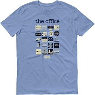 The Office Quote Mash-Up Men's Short Sleeve T-Shirt - Favorite Quotes from The Office - Great for Gifting