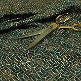 New Furnishing Fabrics Rost Brown Kleines Tribal-Schild,