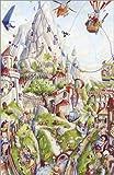 Poster 40 x 60 cm: Wimmelbild: Auf dem Berg von Bernd