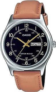 Casio Brown Leather Men Watch MTP-V006L-1B3UDF