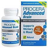 Procera Advanced Brain - 3-in-1 Nootropic Brain Supplement   Memory & Mood Support w/ Ashwagandha, Rhodiola, Ginseng, Ginkgo, Phosphatidylserine & Vitamin B Complex   60 Capsules