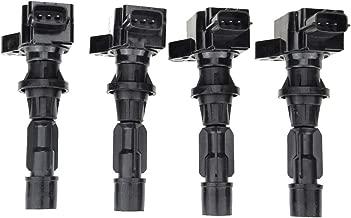 Ignition Coil Pack for Mazda 3 6 CX7 MX-5 Miata I4 2.0L 2.3L 2.5L 4-PC Set