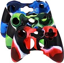 Sponsored Ad - SunAngel Xbox 360 Silicone Wireless Controller Skin Protective Rubber Case Cover for Microsoft Xbox 360 Gam...