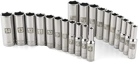 """NEW 2 Sets CRAFTSMAN 10 PC 1//4/"""" Drive Socket Sets 20 New Laser Etched Sockets"""