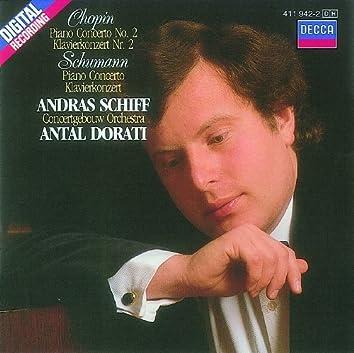 Chopin: Piano Concerto No.2/Schumann: Piano Concerto