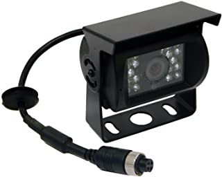 Buyers Products 8881211 Night Vision Camera (Color, Standard W/Audio, Heated, Waterproof, 4-Pin)