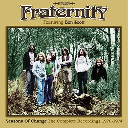 Seasons Of Change ~ The Complete Recordings 1970-1974: 3CD Capacity Wallet
