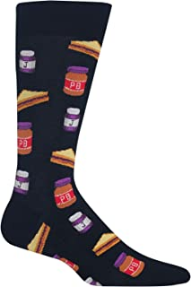 Mens Peanut Butter And Jelly Crew Socks