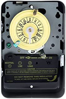 Intermatic TMHDT101 T101 Electromechanical Timer, 125 V, 40 A, 1-23 Hr, 1-12 Cycles Per Day