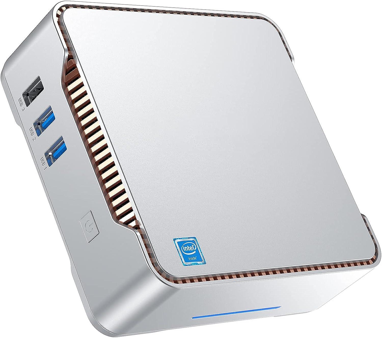 Mini PC Branded goods Windows 10 Pro Computer Desktop Denver Mall Celeron J412 Intel
