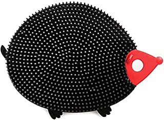 Norpro Silicone Dish Brush, Hedgedog, Black (Hedgehog), 1 Count (NOR-1091)