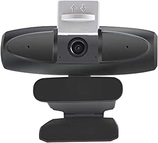 Webcam, HD 1080P privacy cover camera computer webcam USB2.0 plug and play with built-in microphone. For conferencing, web...