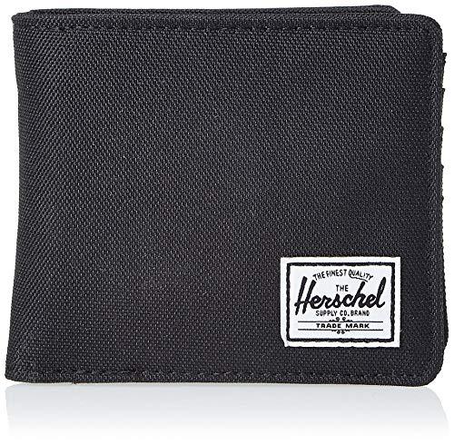 Herschel Unisex-Erwachsene Hans Coin XL RFID Wallet Geldbörse, schwarz, Einheitsgröße