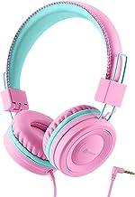 Kopfhörer Kinder, Kabel Kopfhörer für Mädchen, Verstellbares Stirnband, Stereo Sound,..