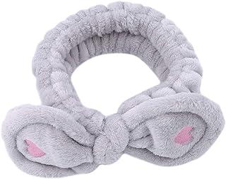 Toporchid Love Heart Bandeau élastique Cartoon Cute Rabbit Ear Hairband pour Les Filles et Les Femmes