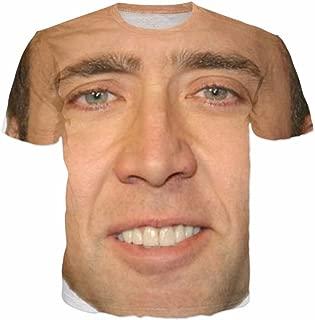 7eaven Shop T-Shirt 3D Print Super Star Nicolas Personality Short Sleeve 04