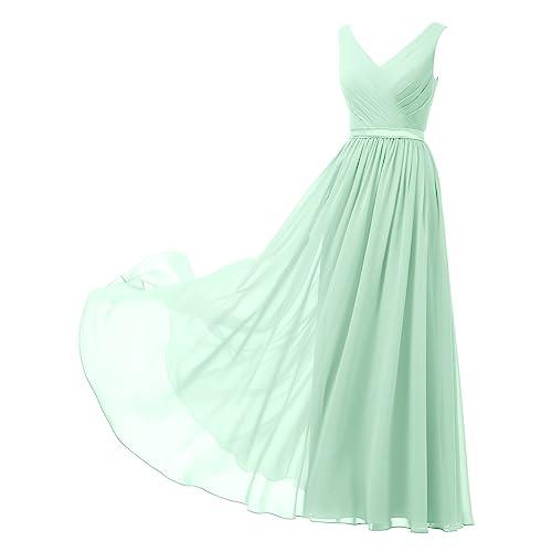 Mint Green Prom Dress