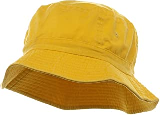 Cameo Pigment Dyed Bucket Hat-Yellow