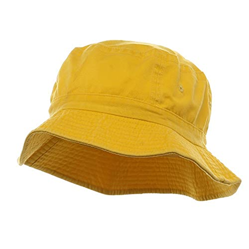 0a94b537ecb Cameo Pigment Dyed Bucket Hat-Yellow