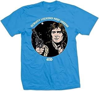 Star Wars Men's Scruffy Nerf Herder T-Shirt Blue