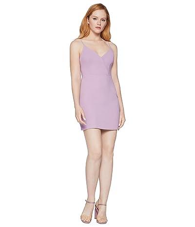 BCBGeneration Cocktail Surplice Cami Woven Dress GEF6256834 (Lavender Herb) Women