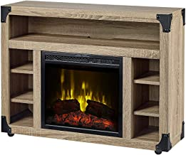 DIMPLEX C3P18LJ-2086DO Electric Fireplace, Distressed Oak