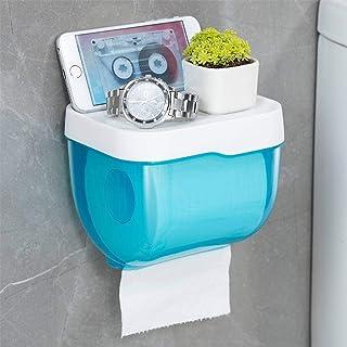 Geen boren muur gemonteerd wc-papier houder, wc-rolhouder waterdichte weefseldoos voor thuis Hotel school wc-papier standa...