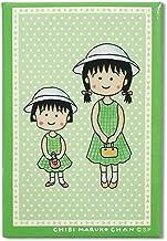 ちびまる子ちゃん 原画カード型マグネット まる子とお姉ちゃん