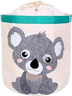 ZXXFR Paniers À Linge,Koala Mignon Cute Cartoon Animal Pliage Grand Sac De Rangement Vêtements Organisateur Panier De Blan...