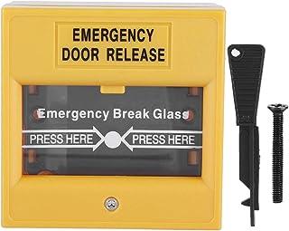 Fire Emergency Exit Knop Release Beveiliging Glas Break Alarm Knop Geschikt voor Uitgang Deuren Nooddeuren