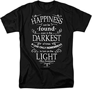 Harry Potter Dumbledore Happiness Quote T Shirt & Stickers