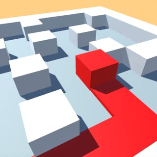 Roller Cube Splat 3D - Paint The Maze Puzzle Games For Kindle Fire Free