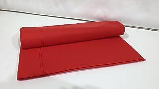 Perrone 2.0 Lenzuolo sopra 1 Posto Tinta Unita Puro Cotone 160CMX290CM Singolo