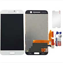 New LCD Display Screen Touch Digitizer Replacement Assembly for HTC One 10 M10 M10H (White)