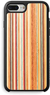Recover Skateboard Wood iPhone 8 Case/iPhone 7 Case/iPhone 6 Case (NOT Plus). Ultra Slim Protective Wooden Cover for iPhone 8/7/6 (Skateboard)