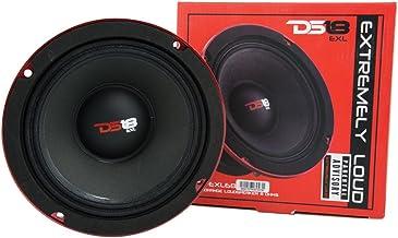 "DS18 PRO-EXL68 Loudspeaker - 6.5"", Midrange, Red Aluminum Bullet, 600W Max, 300W RMS, 8 Ohms, Ferrite Magnet - For the Pep... photo"
