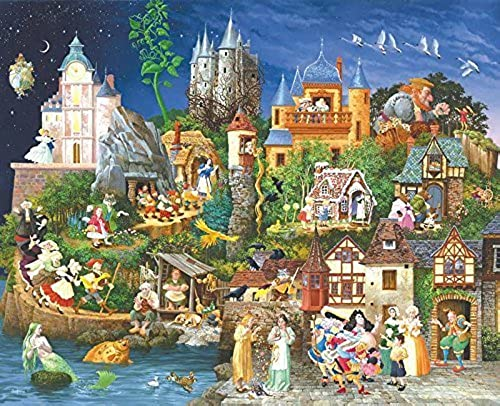 SunsOut - James Christensen - Fairy Tales - Jigsaw Puzzle - 1500 Pc by SunsOut