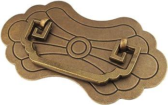 Grepen ideaal for een kastladen Antiek Brons Solid Brass Materiaal Metaal Handle Borst Bagagebox geschikt for alle soorten...