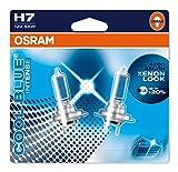 Osram 64210CBI-02B Cool Blue Intense H7 Lámpara Halógena para Faro Principal, Luz Blanca Azulada, 12V, 55W, Casquillo PX26D, Embalaje Blister Doble