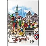 MAGNET - Hameln - Gr. ca. 8x5,5 cm - 37628 - Küchenmagnet