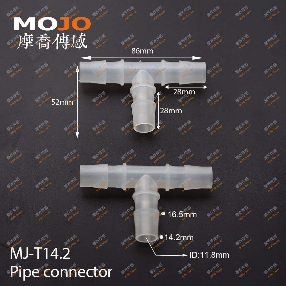 5 ☆ popular Xucus 2020 MJ-T14.2 100 Pieces Three Type TEE Pipe unisex Fittings